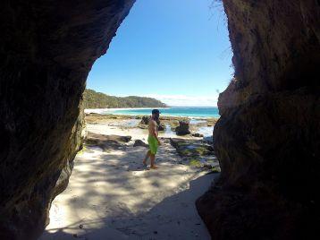 Caves on Murray Beach